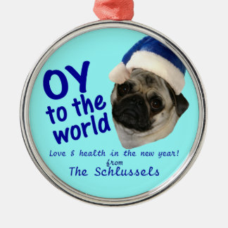 """Oy to the World"" Holiday Ornament"
