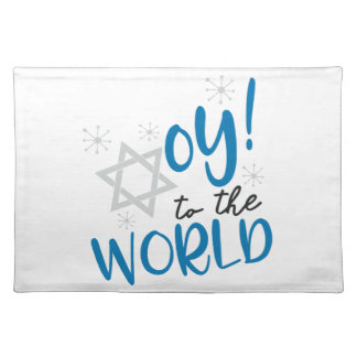 Oy to the World Placemat