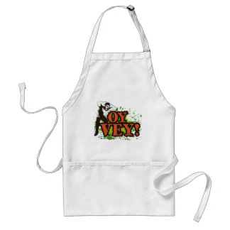OY VEY - Cool Design with screaming man Standard Apron