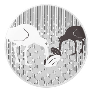 Oyster-Catcher Silhouette - Drawer Knob