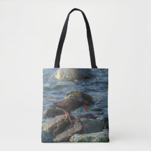 Oyster catcher tote bag
