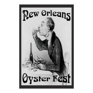 Oyster Festival, New Orleans, LA Poster