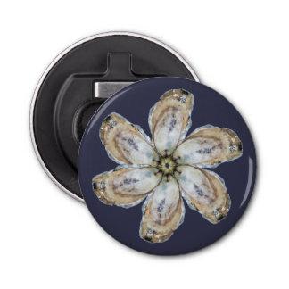 Oyster Flower Magnet Bottle Opener - Design A