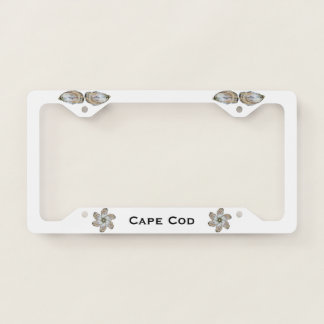 Oyster License Plate Holder Licence Plate Frame