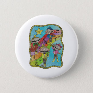 Oyster Mariachi Band Color 6 Cm Round Badge