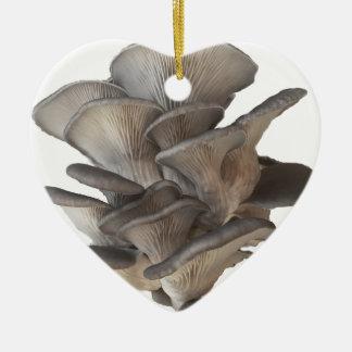 Oyster Mushroom Ceramic Ornament