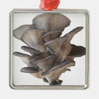 Oyster Mushroom Metal Ornament