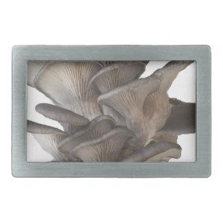 Oyster Mushroom Rectangular Belt Buckle