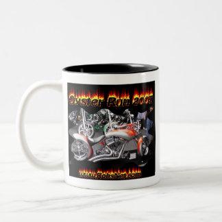 oyster run 2007 Anacortes WA Two-Tone Coffee Mug