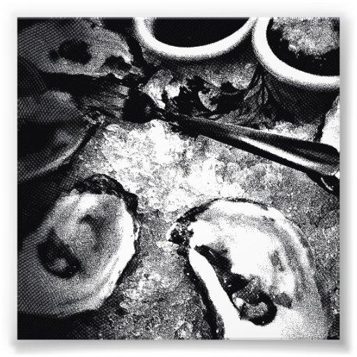Oyster Season Photo Print