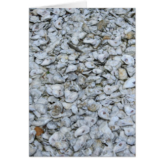 Oyster Shells Card