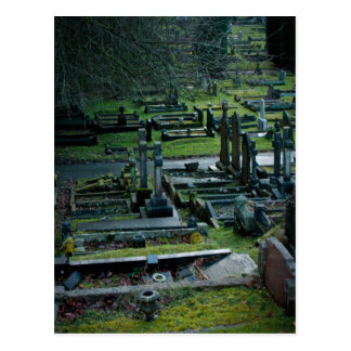 Oystermouth Cemetery Postcard