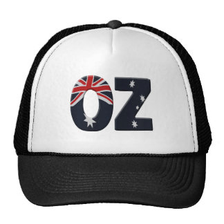 Oz + Australia flag Cap