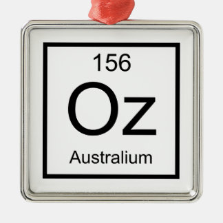 Oz Australium Element Metal Ornament