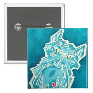 Oz Pinback - Bungle 15 Cm Square Badge