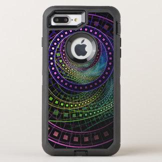 Oz the Great with Technicolor Fractal Rainbow OtterBox Defender iPhone 8 Plus/7 Plus Case
