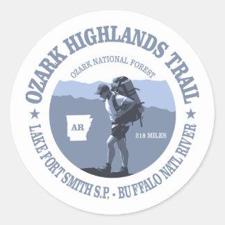 Ozark Highlands Trail Classic Round Sticker