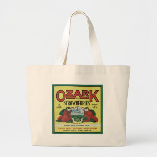 Ozark Strawberries Jumbo Tote Bag
