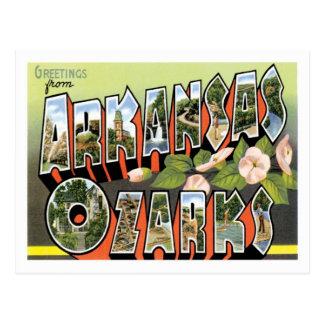 Ozarks Arkansas Travel US City Postcard