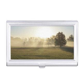 Ozarks Morning Fog Business Card Holder