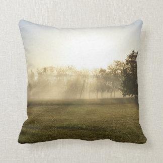 Ozarks Morning Fog Cushion