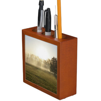 Ozarks Morning Fog Desk Organiser