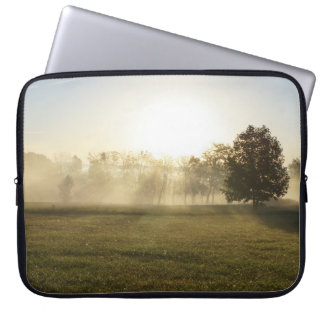 Ozarks Morning Fog Laptop Sleeve