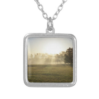 Ozarks Morning Fog Silver Plated Necklace