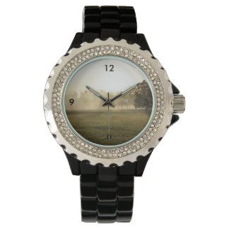 Ozarks Morning Fog Wrist Watch