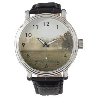 Ozarks Morning Fog Wristwatch