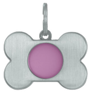 P05 Magnificently Courageous Purple Color Pet Tag