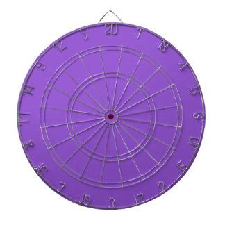 P06 Charmingly Captivating Purple Color Dartboard With Darts