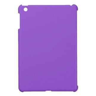 P06 Charmingly Captivating Purple Color iPad Mini Case