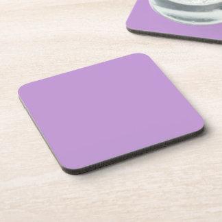 P07 Enchantingly Exquisite Purple Color Coaster
