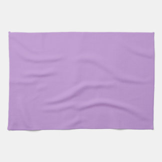 P07 Enchantingly Exquisite Purple Color Tea Towel