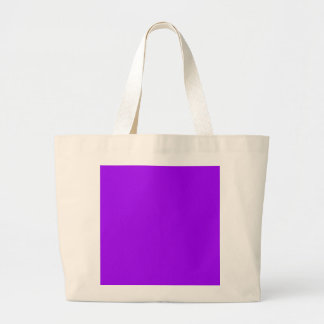 P08 Dramatically Expressive Purple Color Large Tote Bag