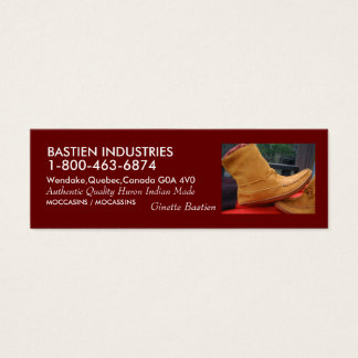 P1010002, BASTIEN INDUSTRIES, 1-800-463-6874, W... MINI BUSINESS CARD