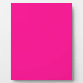 P23  Passion For Pink! Magenta Color Plaque