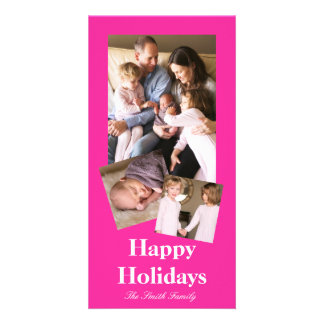 P24 Mad for Magenta! Pink Color Customizable Card