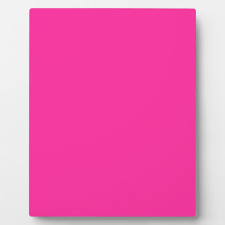P24 Mad For Magenta! Pink Color Display Plaque