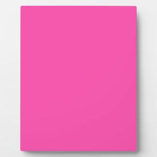 P25 Fancy That Magenta! Pink Color Plaque