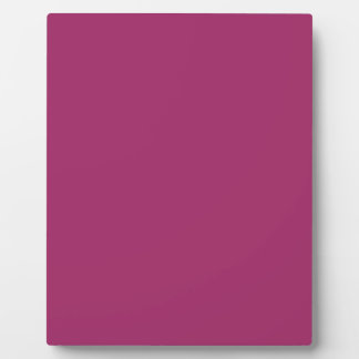 P29  Harmoniously Optimistic Magenta Pink Color Display Plaque