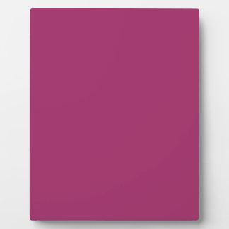 P29  Harmoniously Optimistic Magenta Pink Color Plaque