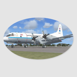 P3 Orion NOAA Weather Plane Stickers