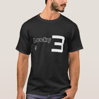 P3G Lucky Number T-Shirt