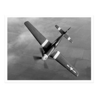 P51 Mustang - Cadillac of the Skies Postcard