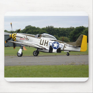 "P51 Mustang ""Sally"" X Mouse Pad"