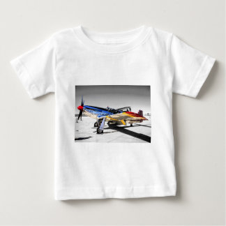 P51C Mustang WWII Fighter Plane Baby T-Shirt