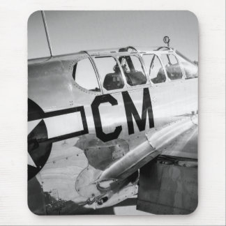 P51C Mustang WWII Fighter Plane Mouse Pad