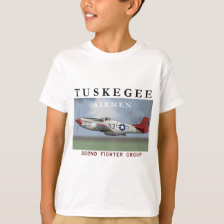 "P51D ""Red Tail"" Mustang T-Shirt"